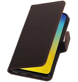 Pull Up Bookstyle für Samsung Galaxy S10e Mocca
