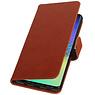 Pull Up Bookstyle für Samsung Galaxy S10 Plus Brown