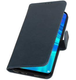 Pull Up Bookstyle for Huawei Honor 10 Lite Blue