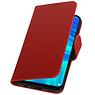Pull Up Bookstyle for Huawei Honor 10 Lite Red