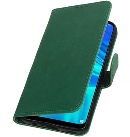 Pull Up Bookstyle for Huawei Honor 10 Lite Green