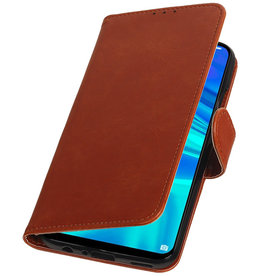 Pull Up Bookstyle für Huawei Honor 10 Lite Brown