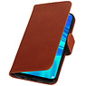 Pull Up Bookstyle for Huawei Honor 10 Lite Brown
