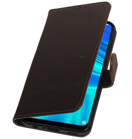 Pull Up Bookstyle voor Huawei Honor 10 Lite Mocca