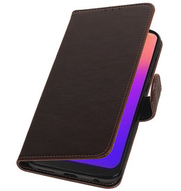 Pull Up Bookstyle for Motorola Moto G7 Mocca