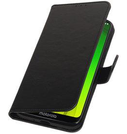 Pull Up Bookstyle for Motorola Moto G7 Power Black