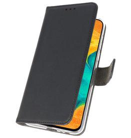 Wallet Cases Hoesje voor Samsung Galaxy A30 Zwart
