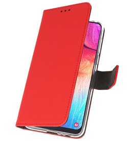 Wallet Cases Case for Samsung Galaxy A50 Red