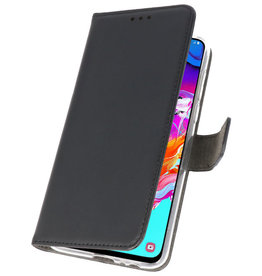 Wallet Cases Case for Samsung Galaxy A70 Black