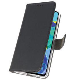 Wallet Cases Case für Huawei P30 Schwarz