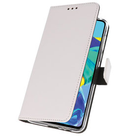 Wallet Cases Case for Huawei P30 White