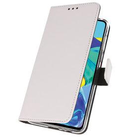 Wallet Cases Case für Huawei P30 Weiß