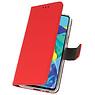 Wallet Cases Tasche für Huawei P30 Rot
