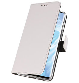 Wallet Cases Case for Huawei P30 Pro White