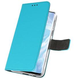 Wallet Cases Hülle für Huawei P30 Pro Blue