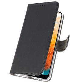 Wallet Cases Hoesje voor Huawei Y6 Pro 2019 Zwart