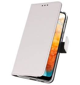 Wallet Cases Case for Huawei Y6 Pro 2019 White