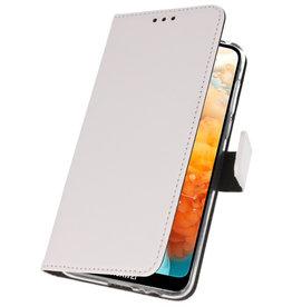 Wallet Cases Hoesje voor Huawei Y6 Pro 2019 Wit