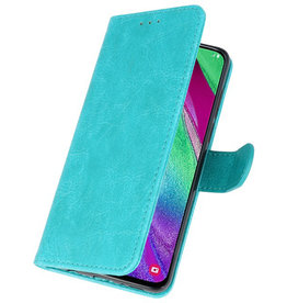 Bookstyle Wallet Cases Case for Galaxy A40 Green