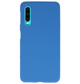 Color TPU case for Huawei P30 Navy