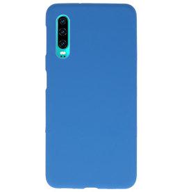 Farbe TPU Fall für Huawei P30 Navy