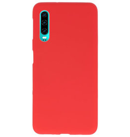 Color TPU case for Huawei P30 red