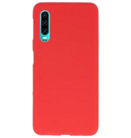 Farbe TPU Fall für Huawei P30 rot