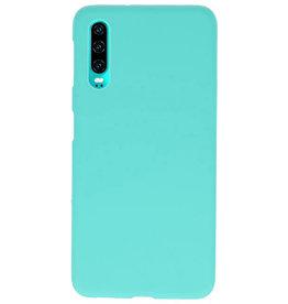 Farbe TPU Fall für Huawei P30 Türkis