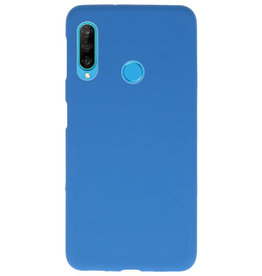 Color TPU case for Huawei P30 Lite Navy