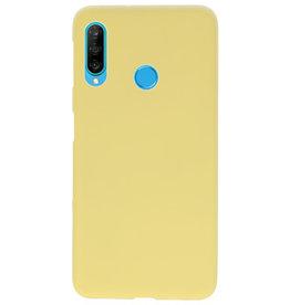 Farbe TPU Fall für Huawei P30 Lite gelb