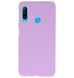 Farbe TPU Fall für Huawei P30 Lite Lila