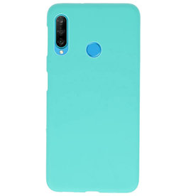 Color TPU Hoesje voor Huawei P30 Lite Turquoise
