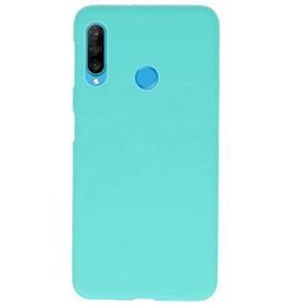 Farbe TPU Fall für Huawei P30 Lite Turquoise