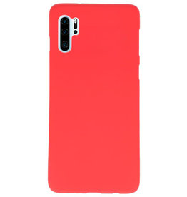 Color TPU case for Huawei P30 Pro red