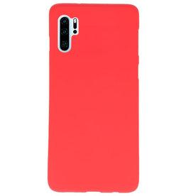 Farbe TPU Fall für Huawei P30 Pro rot