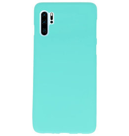 Color TPU case for Huawei P30 Pro Turquoise