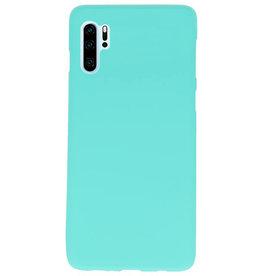 Farbe TPU Fall für Huawei P30 Pro Turquoise