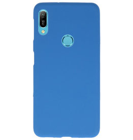 Color TPU case for Huawei Y6 (Prime) 2019 Navy