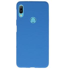 Farbe TPU Fall für Huawei Y6 (Prime) 2019 Navy