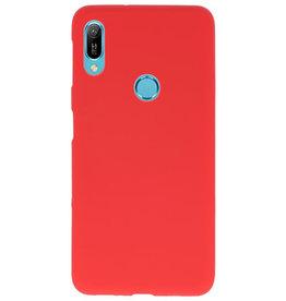 Color TPU Hoesje voor Huawei Y6 (Prime) 2019 Rood