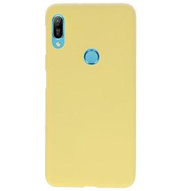 Farbe TPU Fall für Huawei Y6 (Prime) 2019 gelb