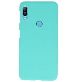 Color TPU case for Huawei Y6 (Prime) 2019 Turquoise
