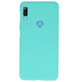 Farbe TPU Fall für Huawei Y6 (Prime) 2019 Türkis