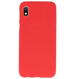 Farbe TPU Fall für Samsung Galaxy A10 rot