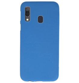 Farbe TPU Fall für Samsung Galaxy A30 Navy