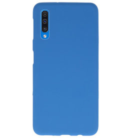 Color TPU case for Samsung Galaxy A50 Navy