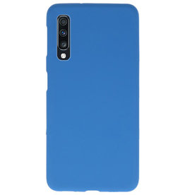 Color TPU case for Samsung Galaxy A70 Navy