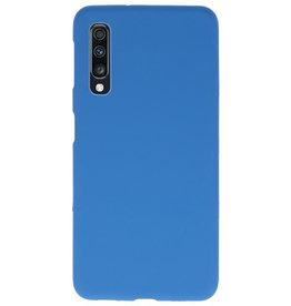 Farbe TPU Fall für Samsung Galaxy A70 Navy