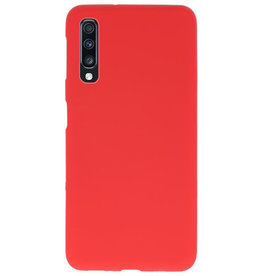 Color TPU case for Samsung Galaxy A70 red