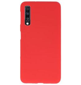Farbe TPU Fall für Samsung Galaxy A70 rot